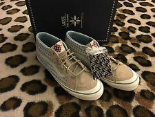 VANS X TAKA HAYASHI TH SK8 MID LX SZ 9  CROSS PATTERN NEW Tan