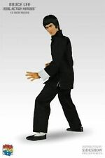 "NEW MEDICOM TOY SIDESHOW BRUCE LEE 12"" 1/6 ACTION FIGURE STATUE figurine"
