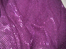Sequins Lurex Disco Dance Fancy Dress Fabric(SAMPLE ONLY)Price Per M Is £2.00
