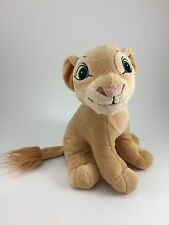 """NALA THE LION CUB STUFFED ANIMAL FROM THE LION KING SOFT EXCELLENT CONDITION 8"""""""