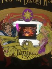 Disney Pin Tangled Rapunzel Le cel Piece Of Movie History Movies PODM Rare