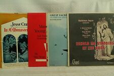 lot lp records Mass For Young Americans Jesse Crawford Kathleen Joyce Christian