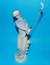 Nao by Lladro Figurine sport ornament golf Golfer 'Fore' #02000451 1st Q (5372)