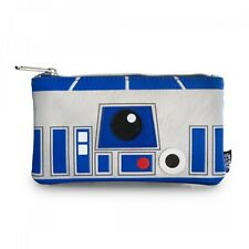 Star Wars R2-D2 Faux Leather Coin Cosmetic Bag Pencil Case Loungefly Disney