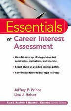 Essentials of Career Interest Assessment, Jeffrey P. Prince