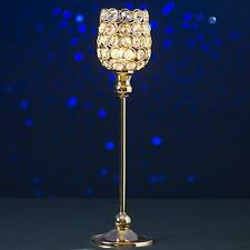 Silver or Gold Crystal Candle Holder. Christmas  Table candle