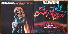 ♫ 2 classic NEIL DIAMOND albums - Hot August Night and Beautiful Noise♫