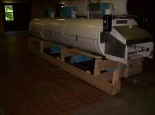 "Cryogenic 3 module 48-3-1 TVS Ln2 or CO2, 1 tier, 48"" long conveyor belt"