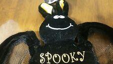 Black Bat Soft Toy Plush Stuffed Animal Cuddly Toy NWT  Halloween