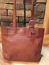 COACH  Vintage Waverly Soho Brown Leather Tote Shopper Handbag