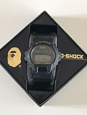 Casio G-shock DW-6900 A BATHING APE  limited edition BAPE