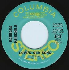 BARBARA FAIRCHILD Love's Old Song ((**NEW UNPLAYED 45 DJ**)) from 1971