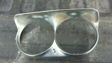 1960 60 chrysler imperial driver side chrome headlight bezel oem vintage mopar
