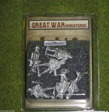 GREAT WAR MINIATURES German Trench Raiders G6 28mm