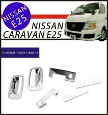 Chrome Door Handle Cover Trim kits 4Door(Fit:NISSAN Caravan/URVAN E25 2001-2012
