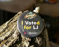 "I Voted For LJ T Mobile Seattle Storm Basketball Round 2 1/4"" Pin Pinback Button"