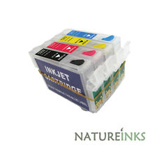 4 refillable ink cartridges XP102 XP202 XP205 XP30 XP305 XP405 18XL refill kits