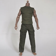 1/6 scale Green suit special soldier shirt pants fit The Expendables Sabretooth