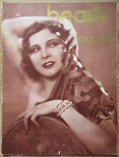 """Très rare """"Beauté Magaziné"""" n°14, printemps 1931."""