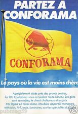 Publicité advertising 1980 Conforama