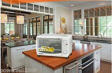 White Stainless Steel Cake Pizza Oven Full Circle Spit Electric Ovens Household