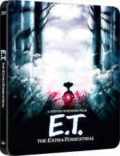 E.T. The Extra-Terrestrial - Limited Edition Steelbook (Blu-ray) BRAND NEW!! ET