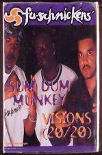 Fu-Schnickens-Sum Dum Munkey / Visions (20/20)  CASSETTE JIVE RAP SEALED OOP