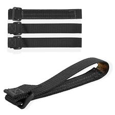 """Maxpedition MX9905B 5"""" Tactie (Pack of 4) Black Attachment Strap Width 3/4"""""""