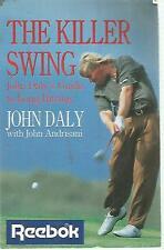 O14 The killer swing John Daly 1994 In abbinamento ed In inglese