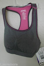 JOCKEY LOW IMPACT  SEAMFREE JK-7526 REMOVABLE CUP SPORTS BRA SZ SMALL  $32 NWT