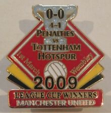 Manchester United 2009 League Cup Winners Danbury Mint Victory Pin Badge