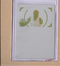 Stephen Jackson  2012-13 National Treasures 2009-10 NT Base Printing Plate 1/1