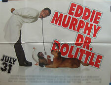 Eddie Murphy DR DOLITTLE (1998)  UK advance quad cinema poster