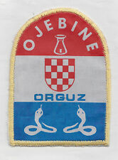 CROATIA ARMY - HVO -  SPECIAL TROOP  OJEBINE  FROM ORGUZ , very rare  patch