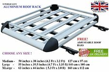 Rangerover Freelander Discovery Landrover ALUMINIUM roof tray rack carry carrier