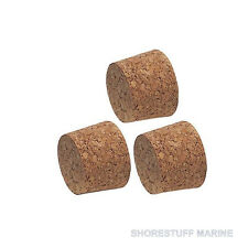 Optimist Sailing Dinghy Mast flotation plugs, Naturalcork. Set of 3 by Optiparts
