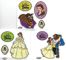 Disney Beauty and the Beast Princess Belle Rose Sticker Set Party Supply Favor