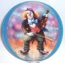 Impressionen eines Clowns ~ 1. Bradex Annaburg Sammelteller = DER MUSIKALISCHE