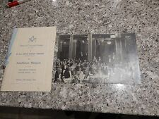 1524 MASONIC LODGE SIGNATURES at FRASCATIs OXFORD STREET W1  1934  A PAIR