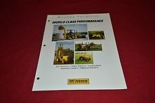 Massey Ferguson 1987 Industrial Equipment Guide Dealer's Brochure DCPA2