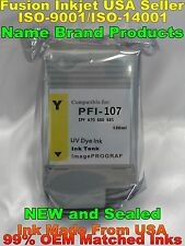 PFI-107 yellow ink cartridge for canon ipf 670 680 685 770 780 785 cx y not oem