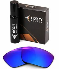 Polarized IKON Iridium Replacement Lenses For Oakley Fuel Cell Violet