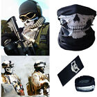 Novel Skull Bike Motorcycle Helmet Neck Face Mask Paintball Ski Headband Bandana