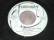 Dick Noel, When I'm Alone / These Are The Things We'll Share