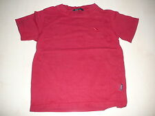 H & M tolles T-Shirt Gr. 104 einfarbig rot !!