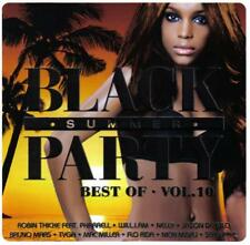 BLACK SUMMER PARTY - BEST OF - VOL. 10 - DOUBLE CD 2013 * SEALED & NEW *