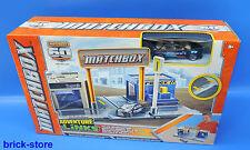Matchbox - Abenteuer / Y6095 /  Spielsatz klein  / Polizei  - Hauptguartier