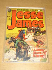JESSE JAMES #3 G (2.0) AVON COMICS KUBERT MAY 1951