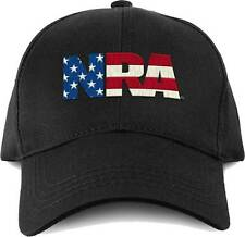 Buck Wear NRA Flag Fill Rifle Gun American Stars Pride USA Military Cap Hat 9712