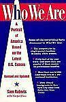 Who We Are : A Portrait of America by Sam Roberts (1995, Paperback)